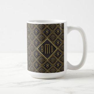 Dollar Signs & Diamonds Coffee Mug