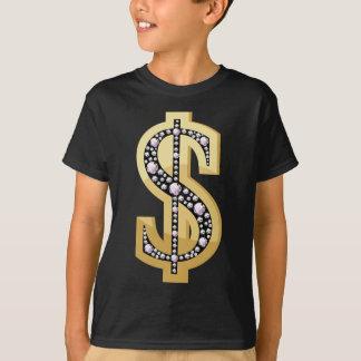 Dollar symbol in diamonds 2 T-Shirt