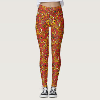 dollar symbol - snake shape leggings