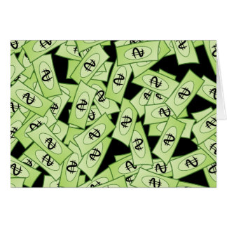 Dollar Wallpaper Card