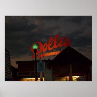 Dolles At Night Poster