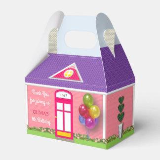 Dollhouse Personalized Birthday Favor Box