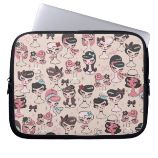 Dolly Chic Laptop Bag by Fluff