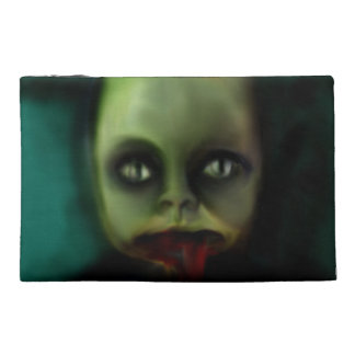 dolly death haunted doll products travel accessory bag