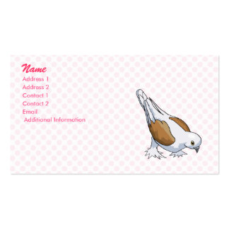 Dolly Dove Business Card Template