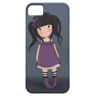 Dolly girl in purple iPhone 5 case