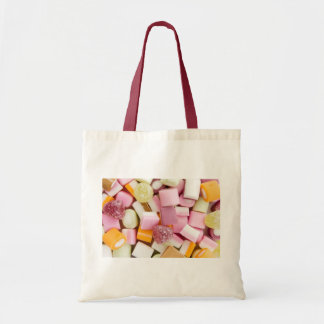 Dolly mixtures background bag