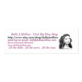 dollzamillion, Dollz A million - visitez mon Etsy… Carte De Visite Petit Format
