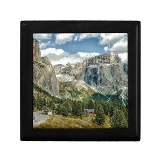Dolomites alps, Italy Gift Box