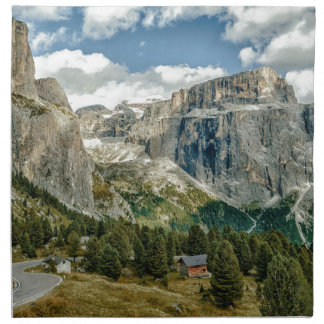 Dolomites alps, Italy Napkin