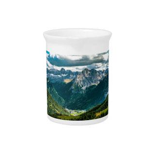 Dolomites alps,Italy Pitcher