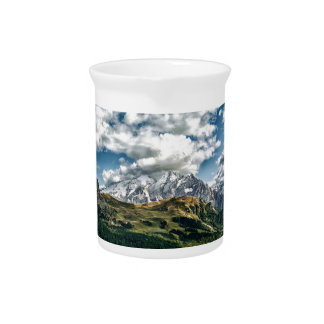 Dolomites alps, Italy Pitcher