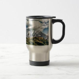 Dolomites alps, Italy Travel Mug