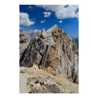 Dolomites - Costabella ridge Poster