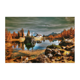 Dolomites mountains, italy acrylic print