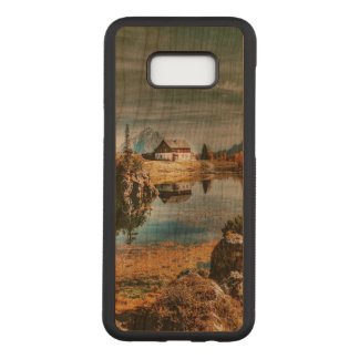 Dolomites mountains, italy carved samsung galaxy s8+ case