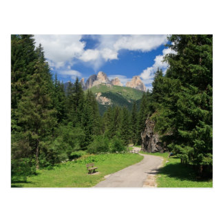 Dolomiti - Fassa Valley Postcard