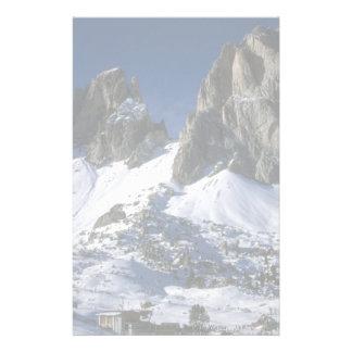 Dolomiti mountains, the Alps Winter Stationery