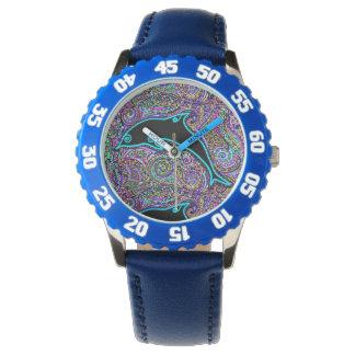 Dolphin Art Design Watch