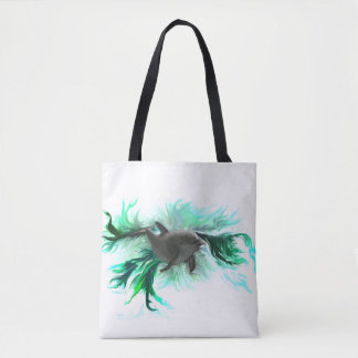 Dolphin Baby Tote Bag