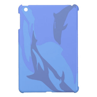 Dolphin Background Case For The iPad Mini