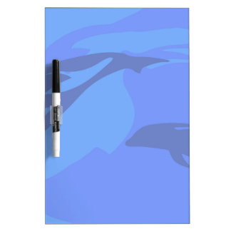 Dolphin Background Dry Erase Board