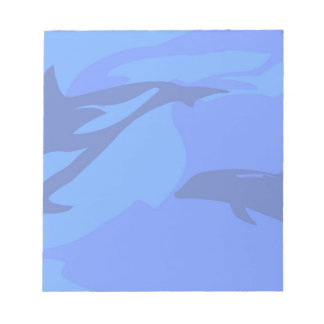 Dolphin Background Notepads