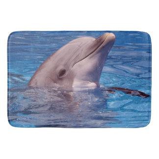 dolphin bath mat