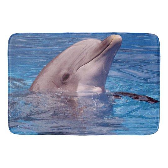 dolphin bathroom mat