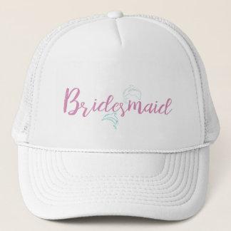 Dolphin Beach Bridesmaid Trucker Hat