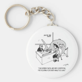 Dolphin Cartoon 3141 Keychain