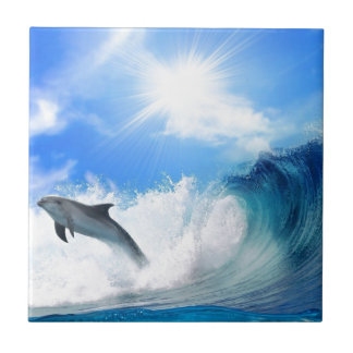 Dolphin Ceramic Tile