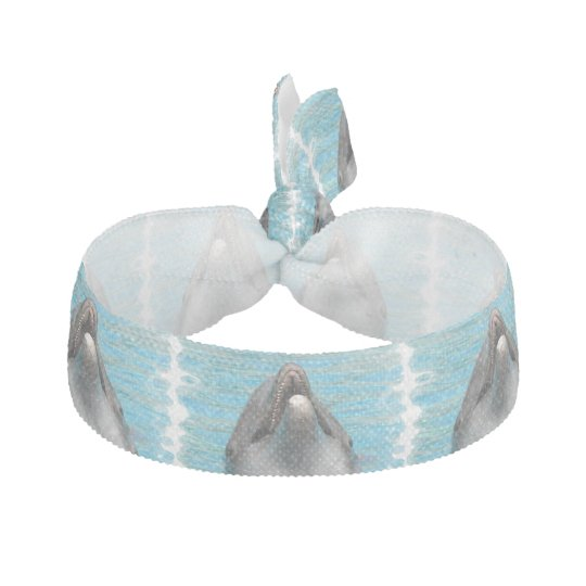Dolphin Chatter Ribbon Hair Tie