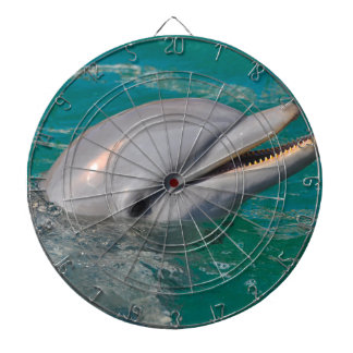 Dolphin Close Up Dartboard