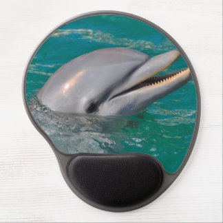 Dolphin Close Up Gel Mouse Pad