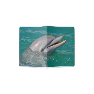 Dolphin Close Up Passport Holder