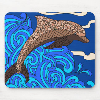 Dolphin Design Mousepad