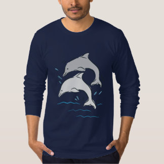 Dolphin Dolphins Cute Cartoon T-Shirt