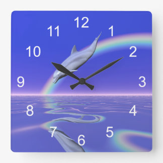 Dolphin Download Wall Clocks