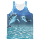 Dolphin Dream All-Over Print Tank Top