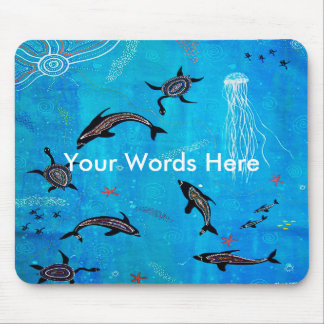 Dolphin Dreaming Mouse Pad