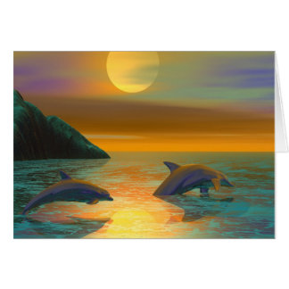 Dolphin Dreams Card