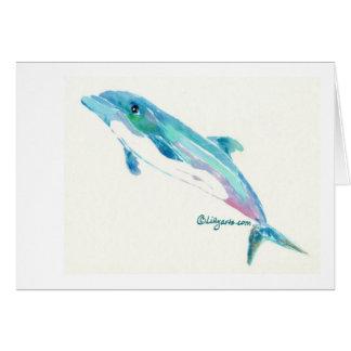 Dolphin Dreams Note Card