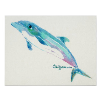 Dolphin Dreams Print and Poster Art