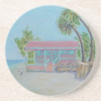 DOLPHIN DREAMS Sandstone Drink Coaster