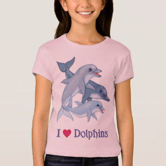 Dolphin Family - CF Warrior Princess T-Shirt