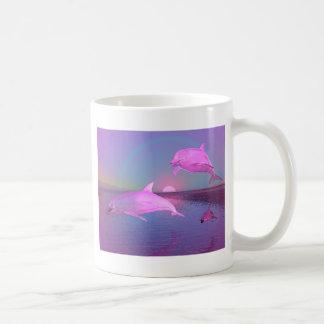Dolphin Fantasy Gifts and Customizable Stationary Coffee Mug