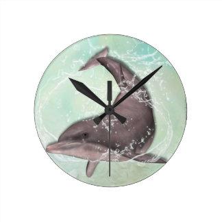 Dolphin Greeting Wallclocks