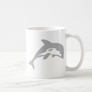 dolphin icon coffee mugs