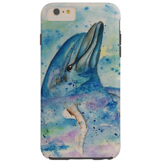 Dolphin in the water tough iPhone 6 plus case